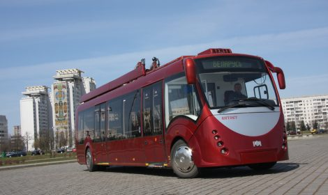 Trolleybus model 420