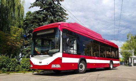 Trolleybus model 321