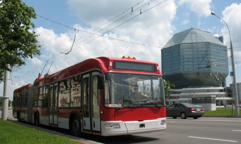 Trolleybus model 333
