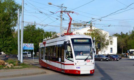 Tram model 802