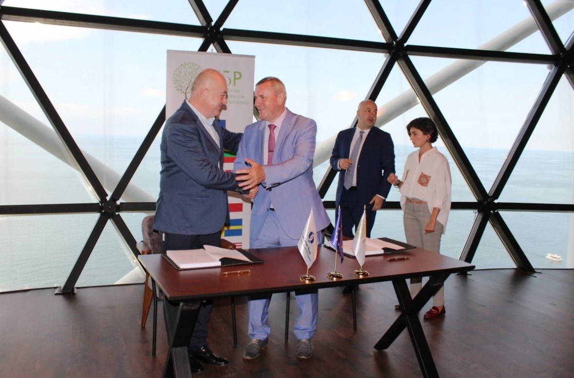 CONTRACT FOR THE SUPPLY OF ELECTRIC BUSES MODEL E490 FOR BATUMI