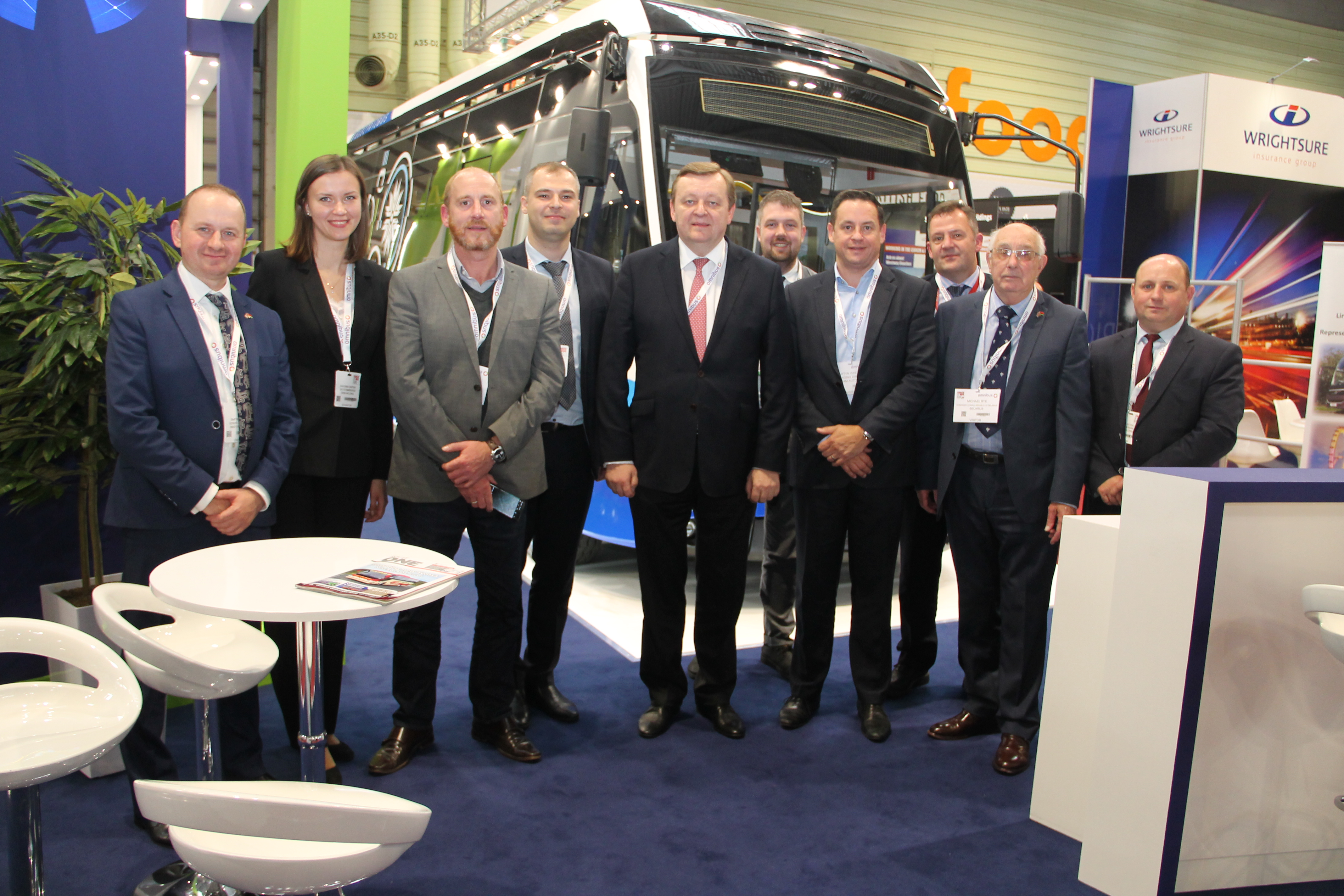 The results of BKM Holding participation at Coach and Bus