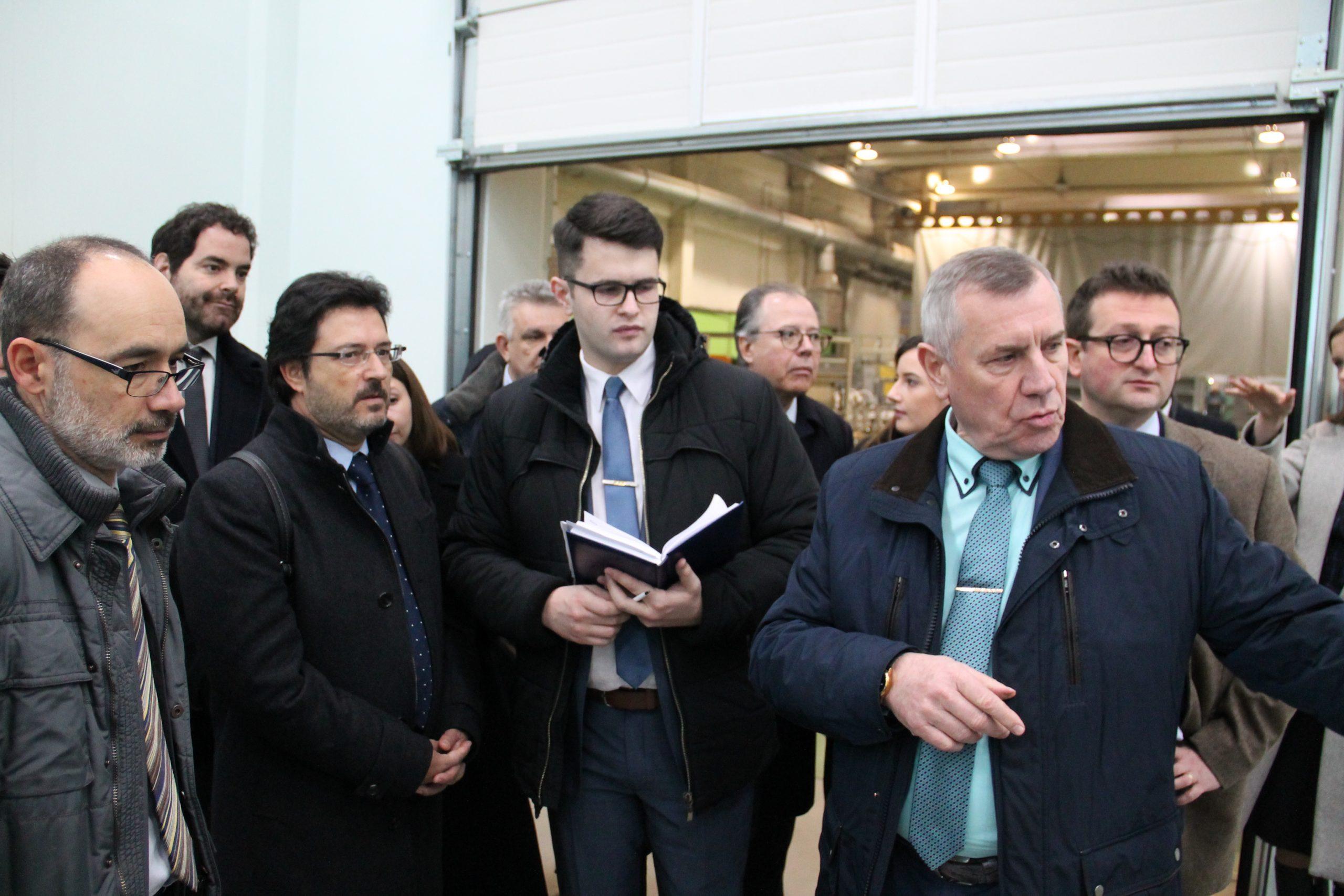 Каталонская делегация посетила BKM Holding